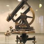 """Teodolito no """"Museo Geominero de Madrid""""."""