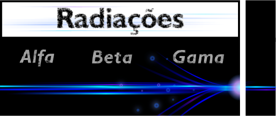 Radiação alfa, beta e gama